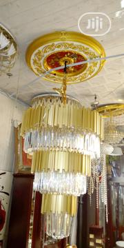 Classical Crystal Chandelier By 1200size Used For Duplex | Home Accessories for sale in Lagos State, Ilupeju