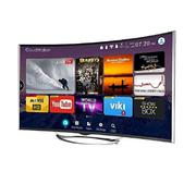 "Polystar 55"" Smart Curved Uhd 4k Led Tv 