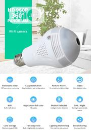 Led CCTV Mini Camera Bulb | Security & Surveillance for sale in Oyo State, Ibadan