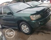 Toyota Highlander 2003 Green | Cars for sale in Lagos State, Yaba