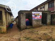 Half Plot Of Land With Uncompleted Bungalow On At Aboru Iyana Ipaja | Houses & Apartments For Sale for sale in Lagos State, Alimosho
