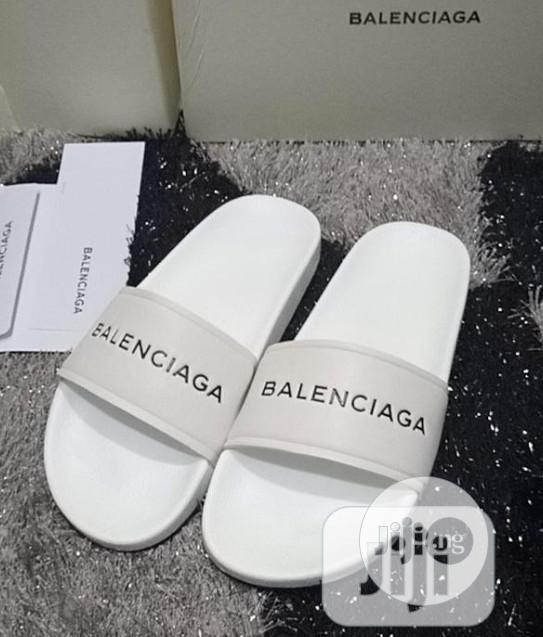 Archive: Exclusive Balenciaga Slippers For Classic Men