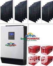 5kva Solar Powered Inverter Installation With For Filling Stations,Etc | Building & Trades Services for sale in Abuja (FCT) State, Central Business District
