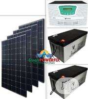 2.5kva 24v Solar Powered Inverter Installation With Debull Batteries | Building & Trades Services for sale in Abuja (FCT) State, Garki II