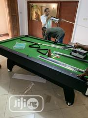 8ft Snooker Board With Double Accessories | Sports Equipment for sale in Enugu State, Nsukka