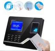 Fingerprint Time Recording Clock Machine Employee Attendance | Computer Accessories  for sale in Lagos State, Ikeja