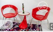 Set Of Red Chair With Stool   Furniture for sale in Lagos State, Ojo