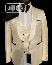Quality Casilas Men's 3pcs Wedding Suits | Clothing for sale in Lagos State, Lagos Island