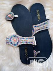 Glittering Flat Slippers | Shoes for sale in Lagos State, Alimosho