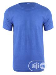 CSN Round Neck Sky Blue Plain T Shirt | Clothing for sale in Lagos State, Surulere