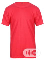 CSN Round Neck Red Plain T Shirt | Clothing for sale in Lagos State, Surulere