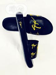 Giuseppe Zanotti Black Slides | Shoes for sale in Lagos State, Ikeja