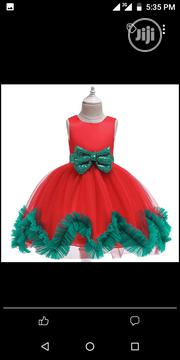 Chrismas Bow Mesh Dress | Clothing for sale in Lagos State, Isolo
