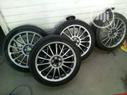 Set Of 18inchs Alloy Wheels + New Tyres | Vehicle Parts & Accessories for sale in Lagos State, Lekki Phase 1