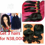Water Curls, Silky Straight and Body Wave Human Hairs | Hair Beauty for sale in Lagos State, Surulere