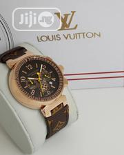 Louis Vuitton Leather Watch   Watches for sale in Lagos State, Agboyi/Ketu