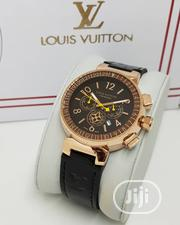 Louis Vuitton Leather Watch | Watches for sale in Lagos State, Agege