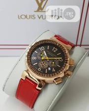 Louis Vuitton Leather Watch | Watches for sale in Lagos State, Ajah
