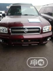 Nissan Pathfinder 2003 SE AWD SUV (3.5L 6cyl 4A) Red | Cars for sale in Lagos State, Apapa