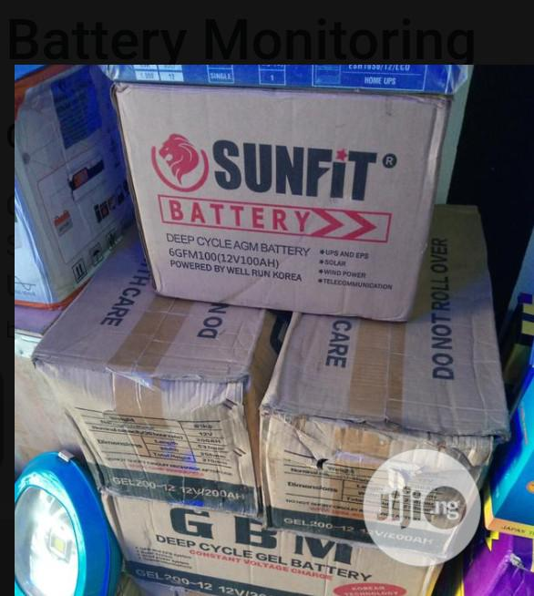 Archive: 100amh Sunfit Inverter Battery