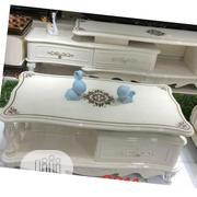 Affordable Center Table & Shelf(White)   Furniture for sale in Lagos State, Ojota