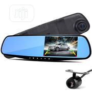 Full Hd 1080 Dual Lens Car Camera Rearview Mirror Design | Vehicle Parts & Accessories for sale in Lagos State, Ikeja