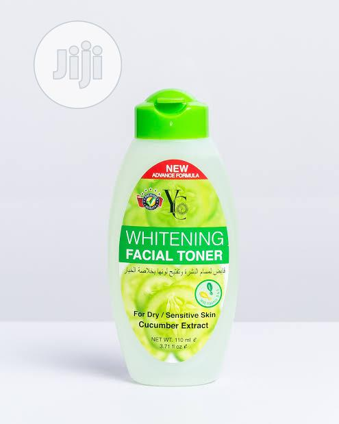 YC Whitening Facial Toner With Cucumber Extract