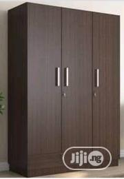 A Brand New Brown Color 3faces Wardrobe With Keys | Furniture for sale in Lagos State, Lagos Mainland
