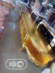 Gold Tv Stand.Imported From Turkey | Furniture for sale in Lagos State, Ajah