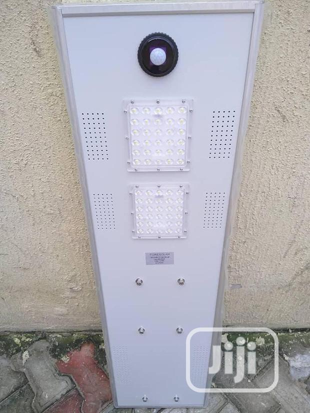 60 Watts All In One Solar Street Light