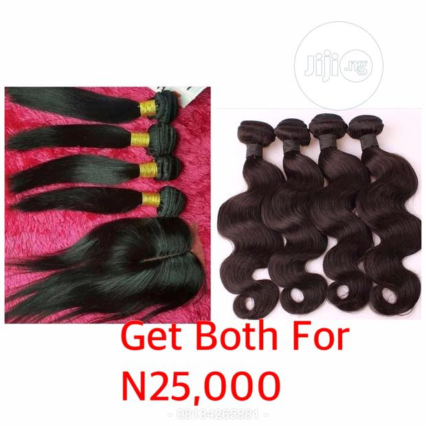 Silky Straight and Body Wave Human Hairs