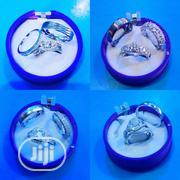 PROMO- S925 Bridal Sets & Titanium Groomsband | Jewelry for sale in Oyo State, Ibadan
