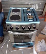 Qasa 4 Burners (2 Electric 2 Gas Burners) Cooker | Kitchen Appliances for sale in Lagos State, Ojo