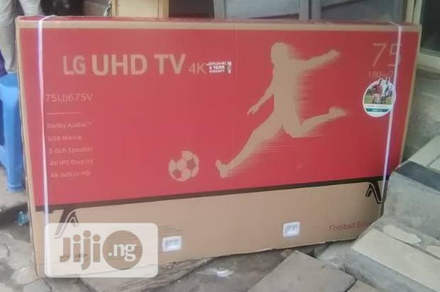 "Lg 75"" Smart Led Tv With Full HD Video Usb Av Input"