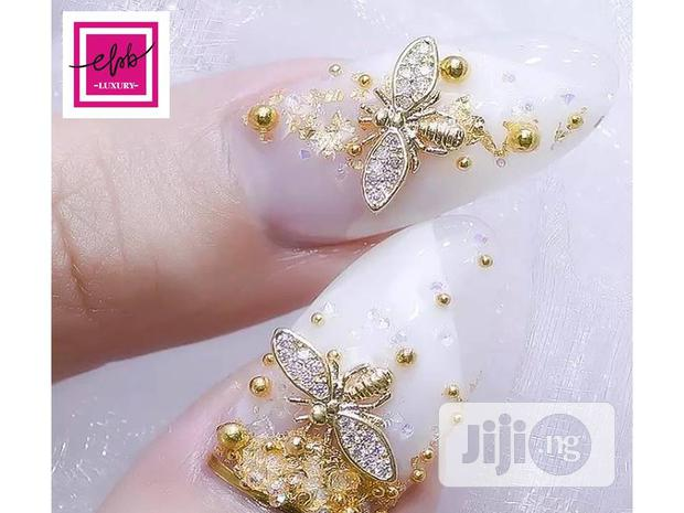 Archive: Fly Dragon Jewelry Nail Art
