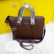Gucci Leather Laptop Bag Available as Seen Order Yours Now   Computer Accessories  for sale in Lagos State, Lagos Island