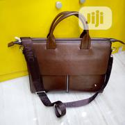 Mont Black Leather Laptop Bag Available as Seen Order Yours Now   Computer Accessories  for sale in Lagos State, Lagos Island