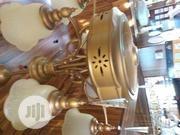 Dubai Golden Chandelier With Fan   Home Accessories for sale in Lagos State, Apapa