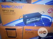 200ah Sun Power Battery | Solar Energy for sale in Lagos State, Ojo