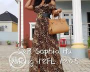 Female Long Gown With Belt | Clothing Accessories for sale in Lagos State, Ikeja