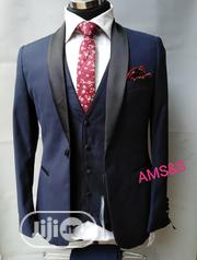 Navy Blue 3pieces Tuxedo | Clothing for sale in Lagos State, Lagos Island