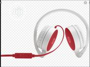 HP 2800 Red Stereo Headset | Headphones for sale in Lagos State, Ikeja