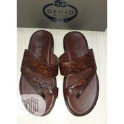 Genio Leather Slip-On Color-Brown 15% Discount | Shoes for sale in Lagos State, Ajah