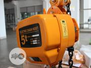 5ton Electric Chain Hoist | Manufacturing Equipment for sale in Lagos State, Amuwo-Odofin