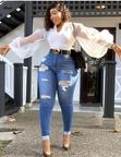 Jeans Skirt, Tops, Jean Trouser .................. | Clothing for sale in Surulere, Lagos State, Nigeria