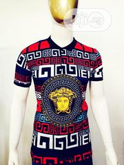 Versace Bold Prints Casual T-Shirt | Clothing for sale in Lagos State, Ikeja