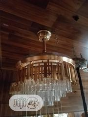 Italian Crystal Led Light Remote Control Fan Chandelier Can Fold | Home Accessories for sale in Lagos State, Ikeja