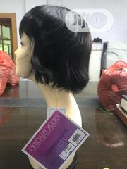 Lovely Short Fringe Wig Human Hair Wigs | Hair Beauty for sale in Lagos State, Ikeja