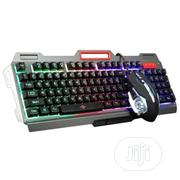 2019 K38 104keys Erogonomic Gaming Keyboard +32000 Dpi Gaming Mouse | Computer Accessories  for sale in Lagos State, Kosofe