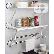 Home Basics Kitchen And Bathroom Rack With Towel Bar   Home Accessories for sale in Lagos State, Lagos Mainland